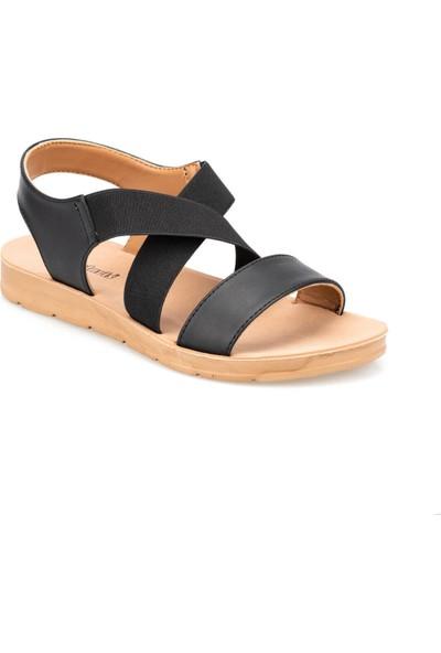 Polaris 91.150787Cz Siyah Kadın Sandalet