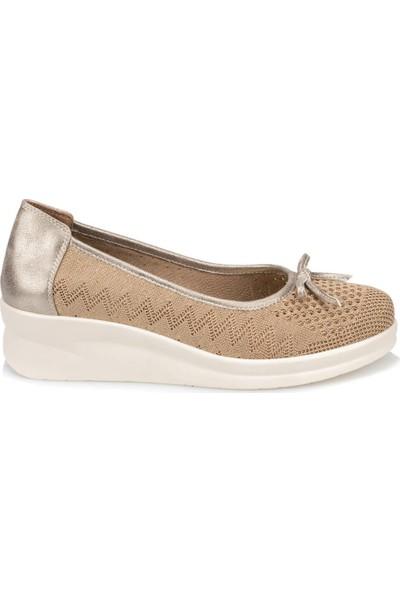 Travel Soft Trv910046 Altın Kadın Ayakkabı