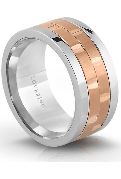 Lovering Lvr339B Kadın Çelik Yüzük 10
