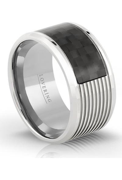 Lovering Lvr405E Erkek Çelik Yüzük 16