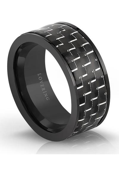 Lovering Lvr512E Erkek Çelik Yüzük 20