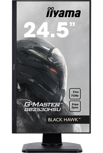 """iiyama G-Master GB2530HSU-B1 25"""" 1ms 75Hz FreeSync Oyuncu Monitörü"""
