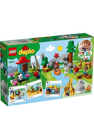 LEGO DUPLO 10907 Dünya Hayvanları
