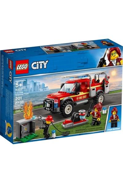 LEGO City 60231 İtfaiye Şefi Müdahale Kamyonu