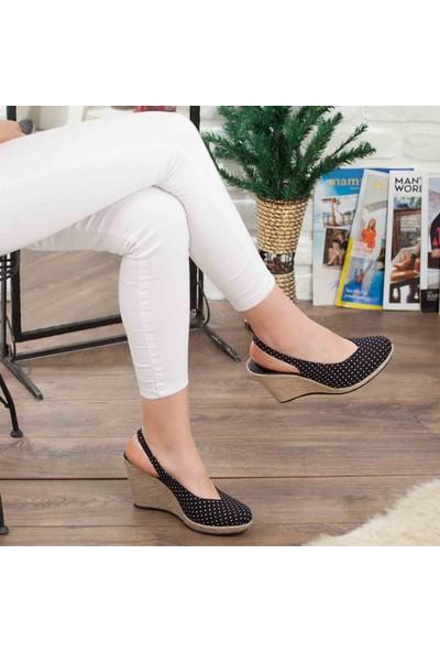 Primo Passo Kadın Dolgu Topuklu Ayakkabı