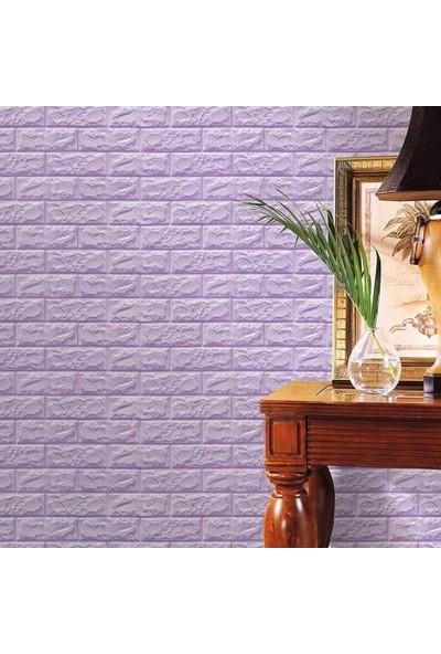 Renkli Duvarlar Çıkart Yapıştır 3D Esnek Duvar Kaplama Paneli (6 Adet)