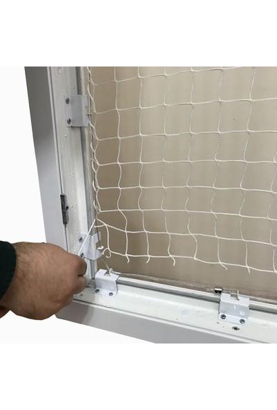 Winblock Pets Evcil Hayvan Pencere Güvenlik Ağı (2 Pencerelik)