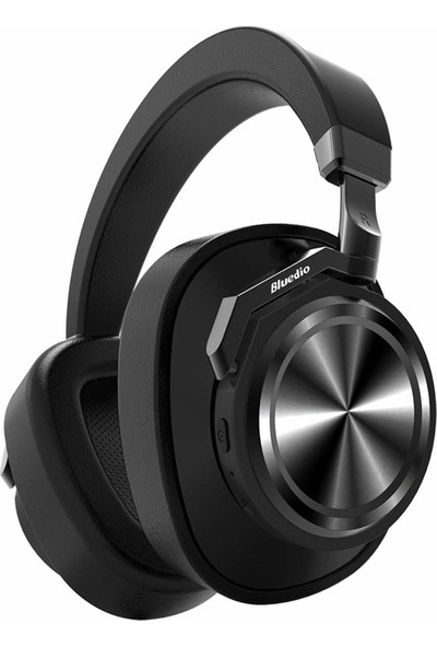 Bluedio T6 Aktif Gürültü Engelleme (ANC) Bluetooth 5.0 Kulaklık Siyah