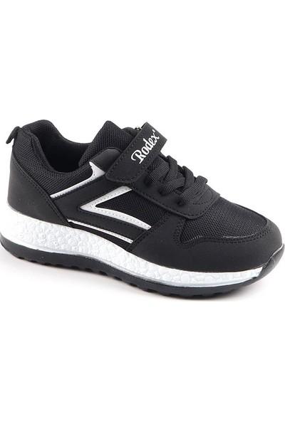Rodex Siyah Günlük Fileli Erkek Çocuk Spor Ayakkabı