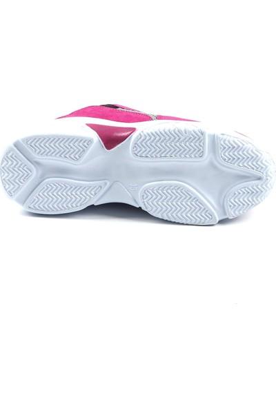 Jamper Mor Günlük Yürüyüş Kadın Spor Ayakkabı