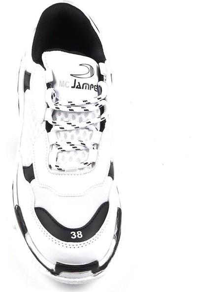 Jamper Beyaz Günlük Yürüyüş Spor Ayakkabı