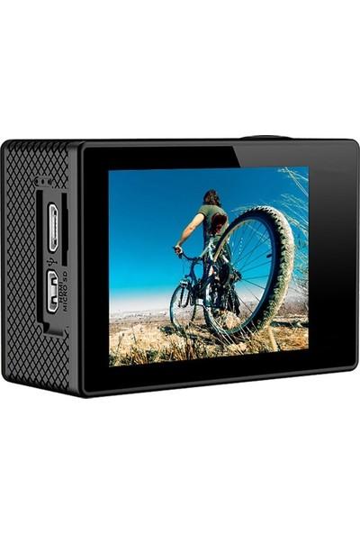 Eken H9R 4K Ultra Hd Wifi Aksiyon Kamera + Yedek Batarya + Kumanda – Beyaz