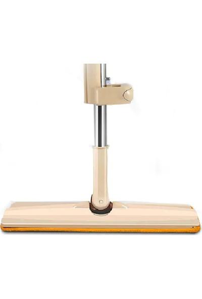 Spin Mop Mikrofiber Kendinden Sıkmalı Tablet Mop Paspas Kovasız Pratik