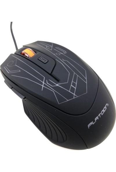 Platoon PL-1560 Optik Kablolu Oyuncu Mouse