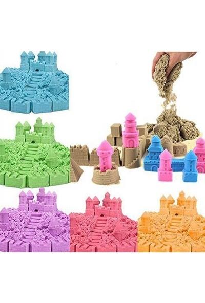 Kinetik Kum * 2 Kg 2 Renk * 8 Adet Oyun Kalıpları Hediye