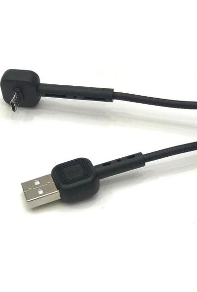 Earldom 2.4 A Hızlı Şarj - Stantlı Micro USB Şarj Kablosu