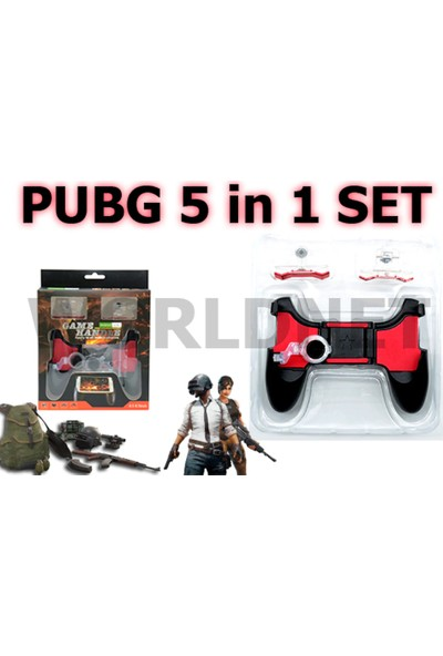 Özdenimport Pubg 5in1 Set
