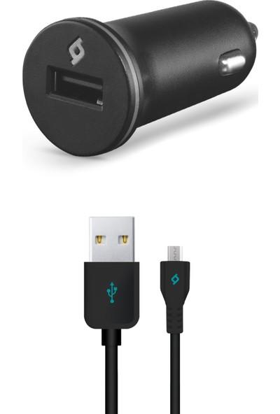 Ttec Compact Araç Şarj Aleti Micro USB 1000 Ma - Siyah