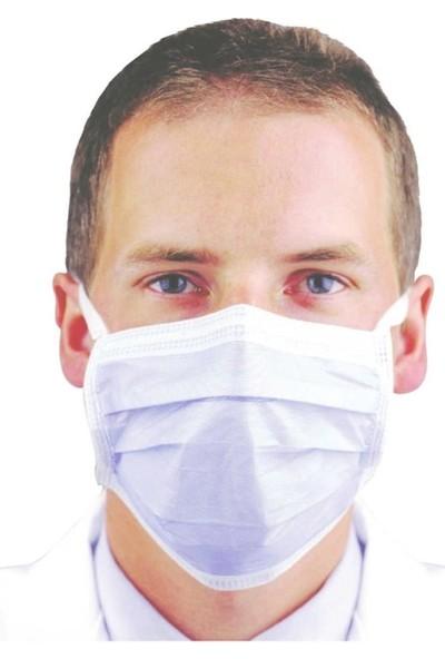 Gmb Cerrahi Maske Lastikli 50 Adet Yüz Ağız Maskesi