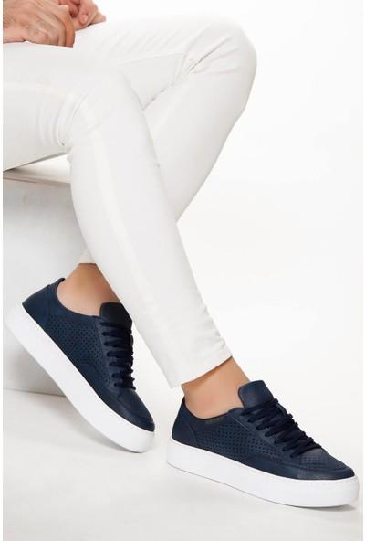 Erbilden Ch015 İpk Bt Erkek Ayakkabı Lacivert