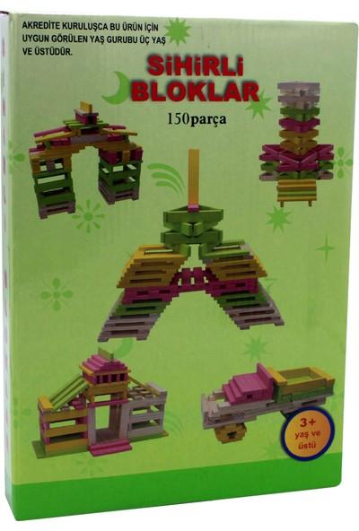 Onyıl Hediyelik Kutuda Ahşap 150 Parça Sihirli Bloklar