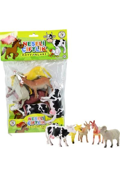 Onyıl Hediyelik Büyük Boy 6'lı Çiftlik Hayvanları
