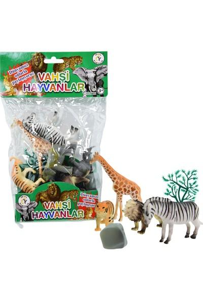 Onyıl Hediyelik Büyük Boy 6'lı Vahşi Hayvanlar