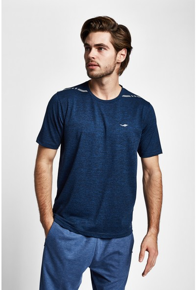 Lescon 19Y-1004 Mavi Erkek Kısa Kollu T-Shirt