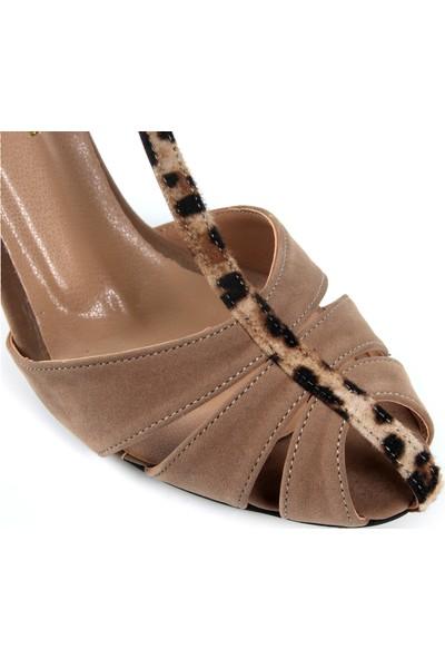 Gökhan Talay Princess Ten Rengi Topuklu Ayakkabı