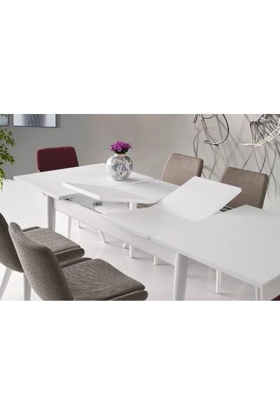 Enzo Mutfak Masası Mabel ve Costa Sandalye Takımı