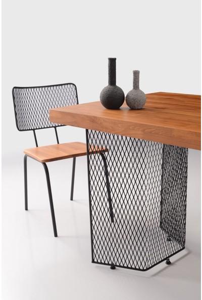 Natura 165 Mutfak Masası Brooklyn Sandalye Takımı