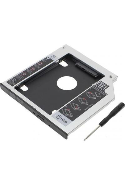 Comtech 9.5mm Sata HDD Harddisk Caddy Kızak Kutu Laptop SSD Notebook İkinci HDD Takma