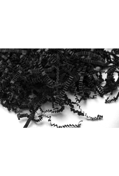 Rocopaper Zigzag Kırpık (Dolgu) Kağıt 100 Gr. - Siyah