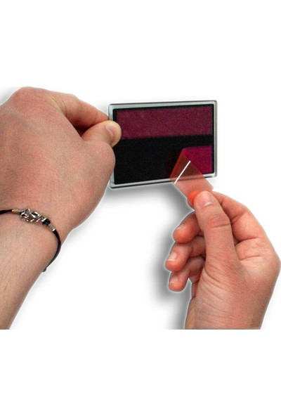 PassPano Akrilik İTİNİZ /ÇEKİNİZ Yapışkanlı Levha 9 cm x 5.5 cm