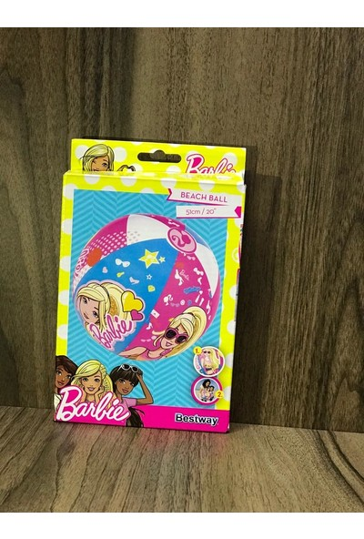Bestway cm Barbie Havuz Topu