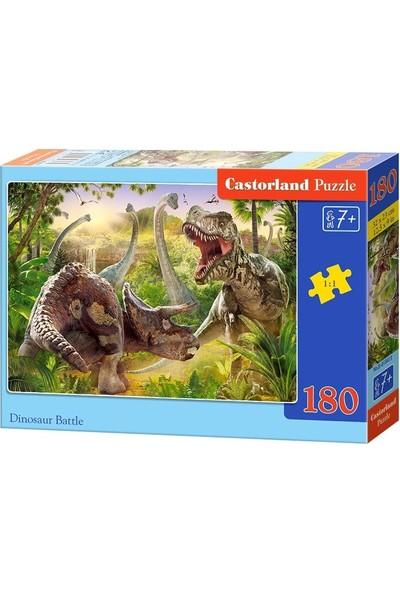 Castorland 180 Parça Dinazorların Savaşı Çocuk Puzzle
