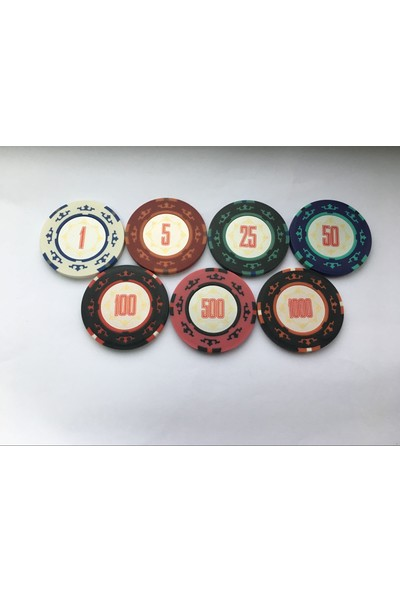 Cartamundi Poker Chip 1' Lik