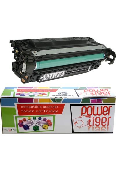 Powertiger CE250A Black Toner Kartuş (504A)