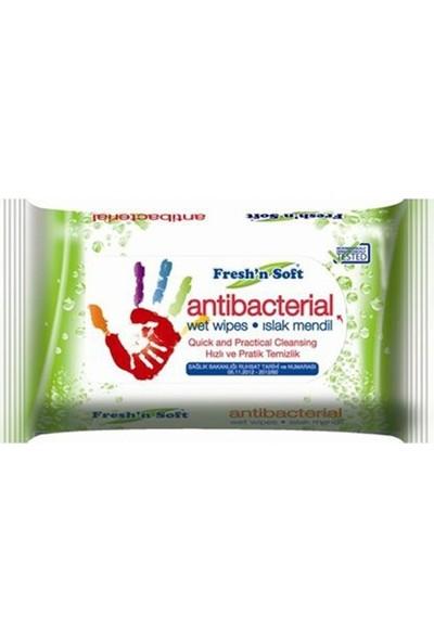 Fresh'N Soft Antibakteriyel Cep Mendili