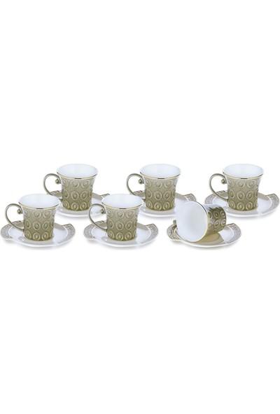 Doreline Corazon 6'lı Kahve Fincan Seti