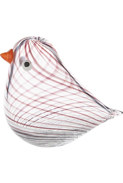 Doreline Pajaro Büyük Boy Cam Obje Kuş
