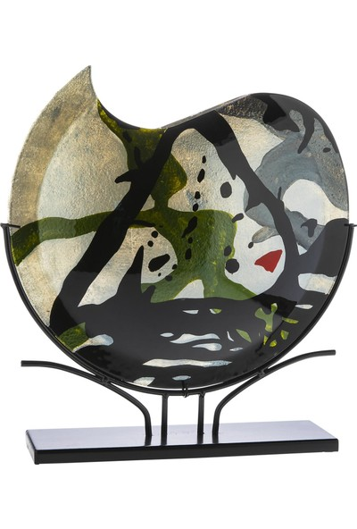 Doreline Murcia Büyük Boy Oval Dekoratif Obje