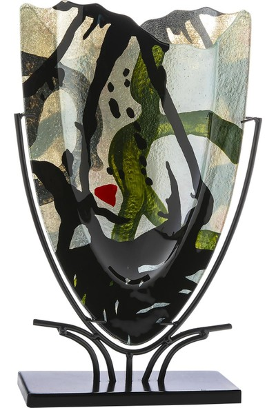 Doreline Murcia Büyük Boy Üçgen Dekoratif Obje