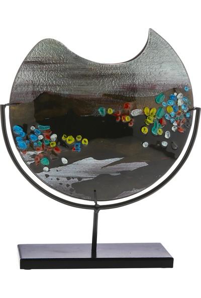 Doreline Pamplona Küçük Boy Oval Dekoratif Obje
