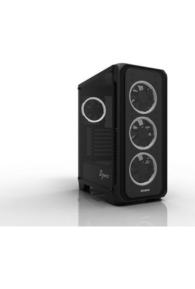 Zalman Z7 Neo ATX MidTower 700W 80 Plus 4x120mm LED Fan Siyah Bilgisayar Kasası