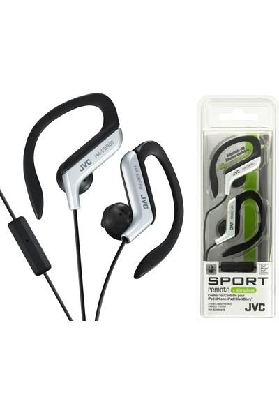 Jvc HAE-BR80SK Kulak İçi Spor Tipi ve Mikrofonlu Gümüş Renk Kulaklık