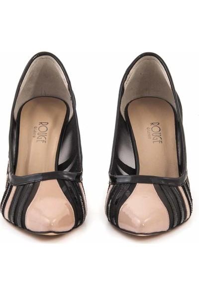 Rouge Deri Kadın Topuklu Ayakkabı 9620