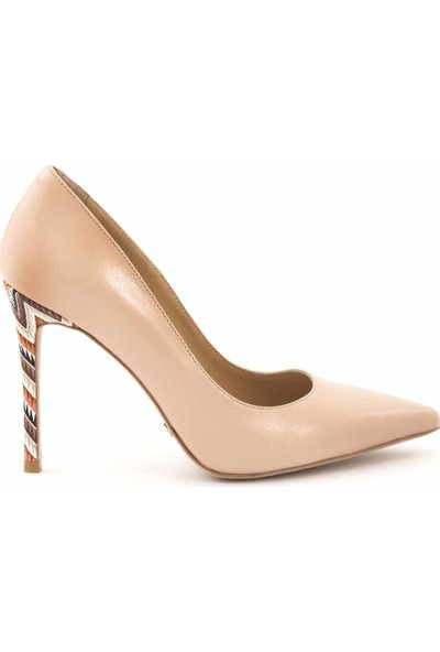 Rouge Deri Kadın Topuklu Ayakkabı 9950