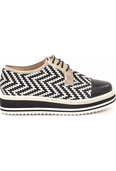 Rouge Deri Kadın Klasik Ayakkabı 9955