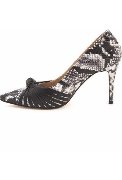 Rouge Deri Kadın Topuklu Ayakkabı H107